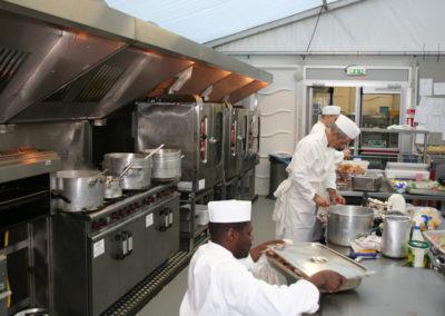 production kitchen